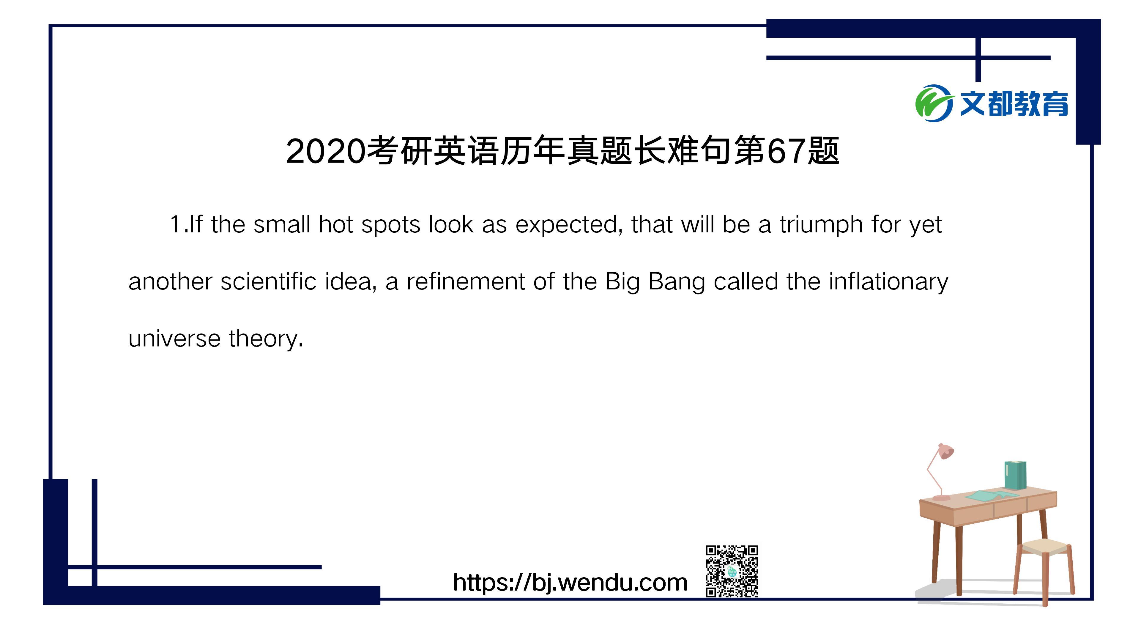 2020考研英语历年真题长难句第67题