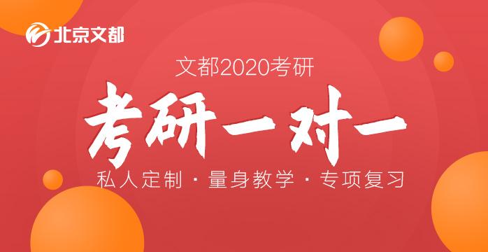 2020考研蝶变一对一